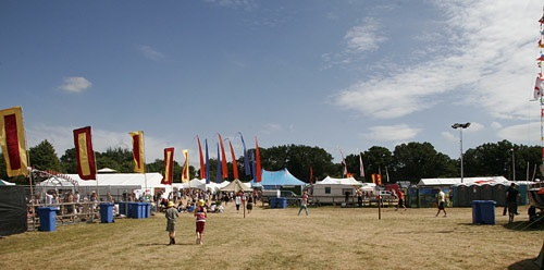 Flags at Blissfields